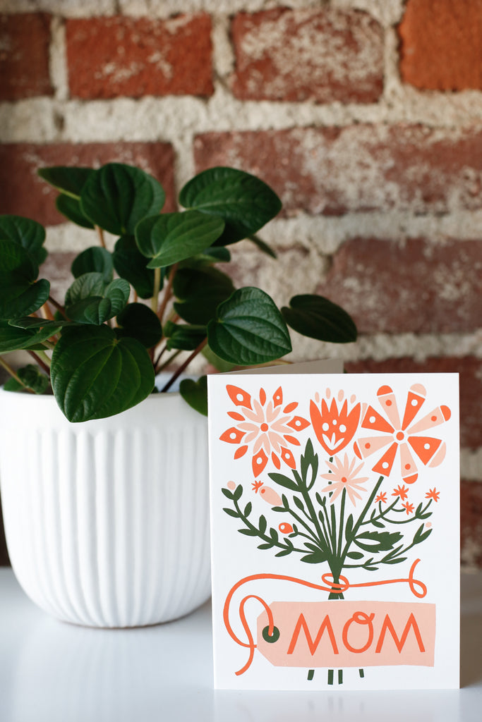Mom Bouquet Card