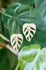 Monstera Adansonii Earrings