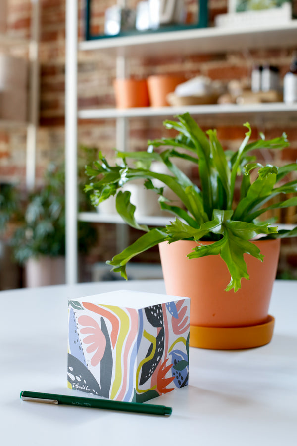 Fantastic Garden Sticky Note Stack