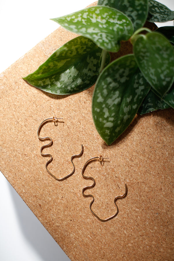 Plant Profile Earrings
