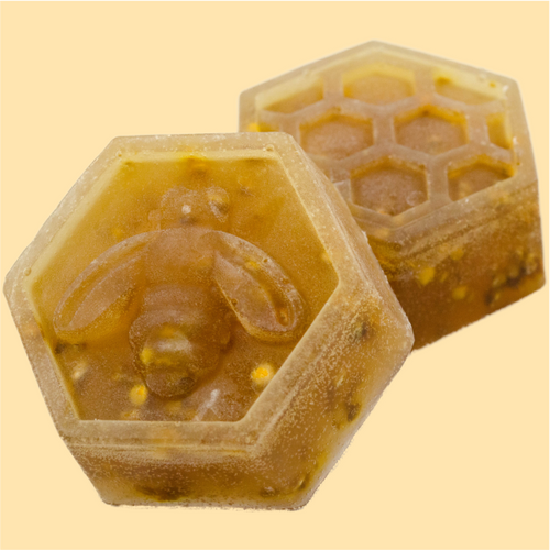 Honey Comb Soap Bar, 3-pack