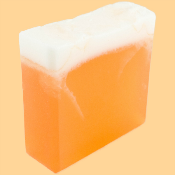 Orange Serenity Soap Bar - Texas Bathecary
