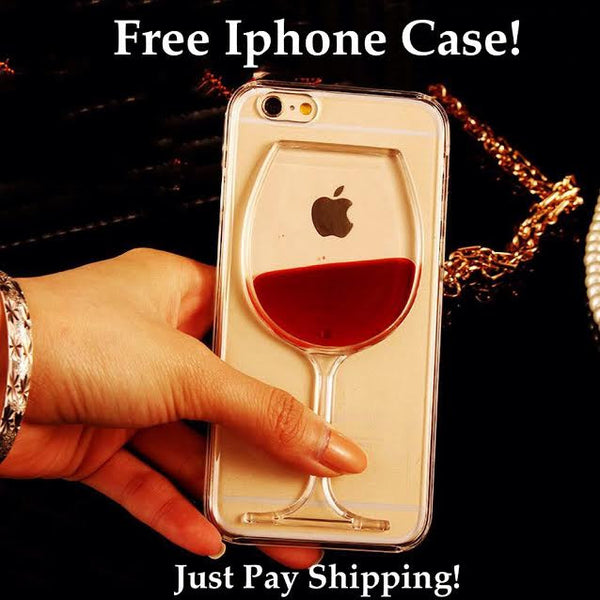 Free Red Wine IPhone Case (Just Pay Shipping)