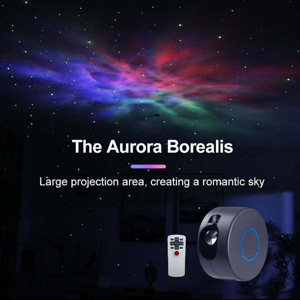 Cyber Space Aurora Galaxy Star Projector