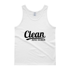 Clean and Sober Men's Tank Top