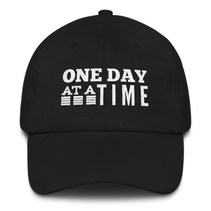 One Day at a Time Hat - Black