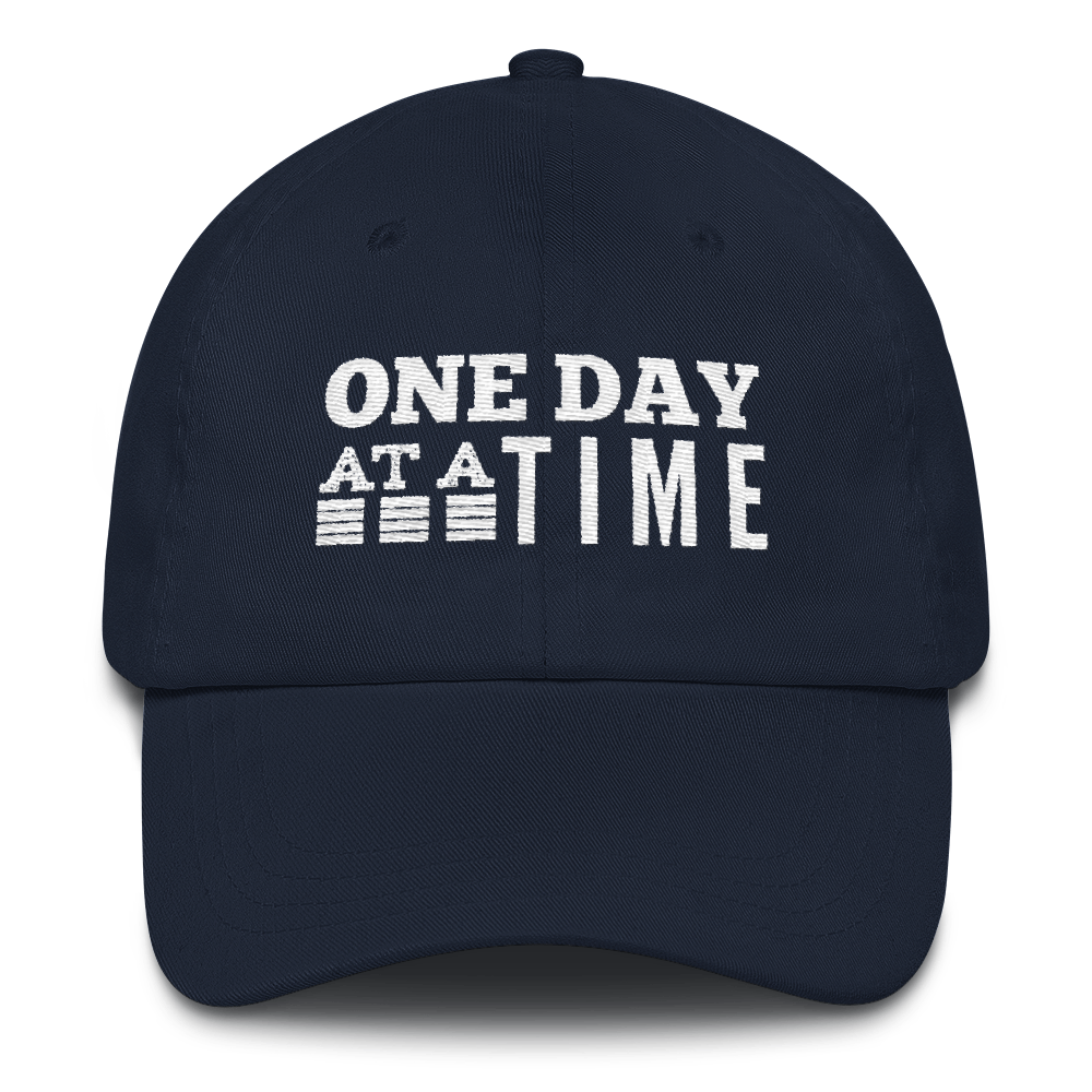 One Day at a Time Hat - Navy