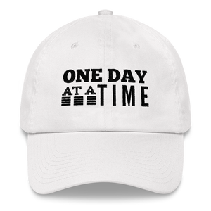 One Day at a Time Hat - White