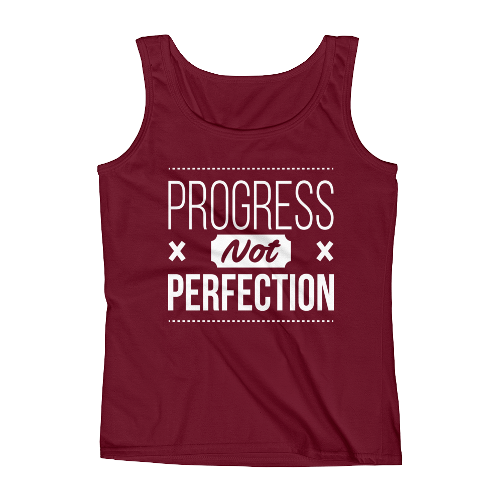 Progress Not Perfection Women's Tank Top