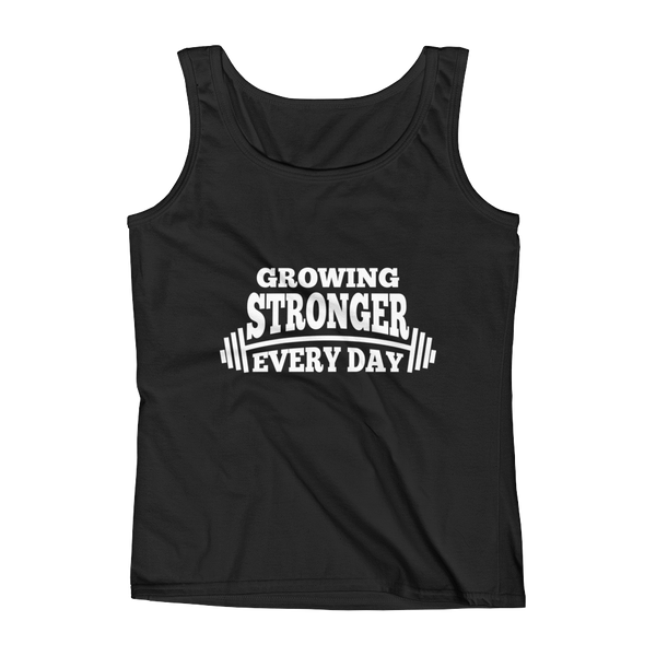 Growing Stronger Every Day Women's Tank Top