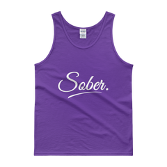 Sober Men's Tank Top