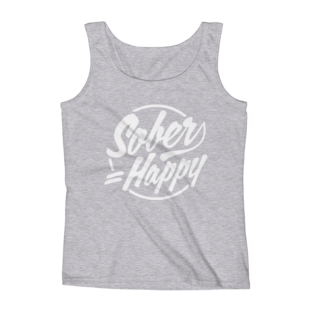 Sober = Happy Women's Tank Top
