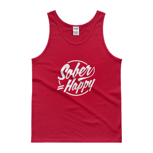 Sober = Happy Men's Tank Top