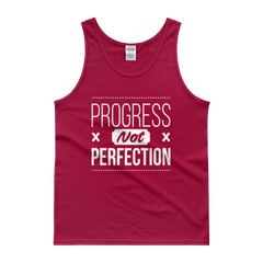 Progress Not Perfection Men's Tank Top