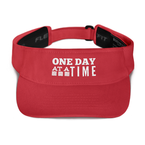 One Day at a Time Visor - Red
