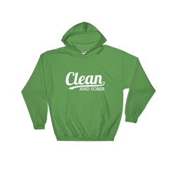 Clean And Sober Unisex Hoodie
