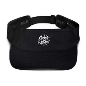 Sober Equals Happy Visor - Black