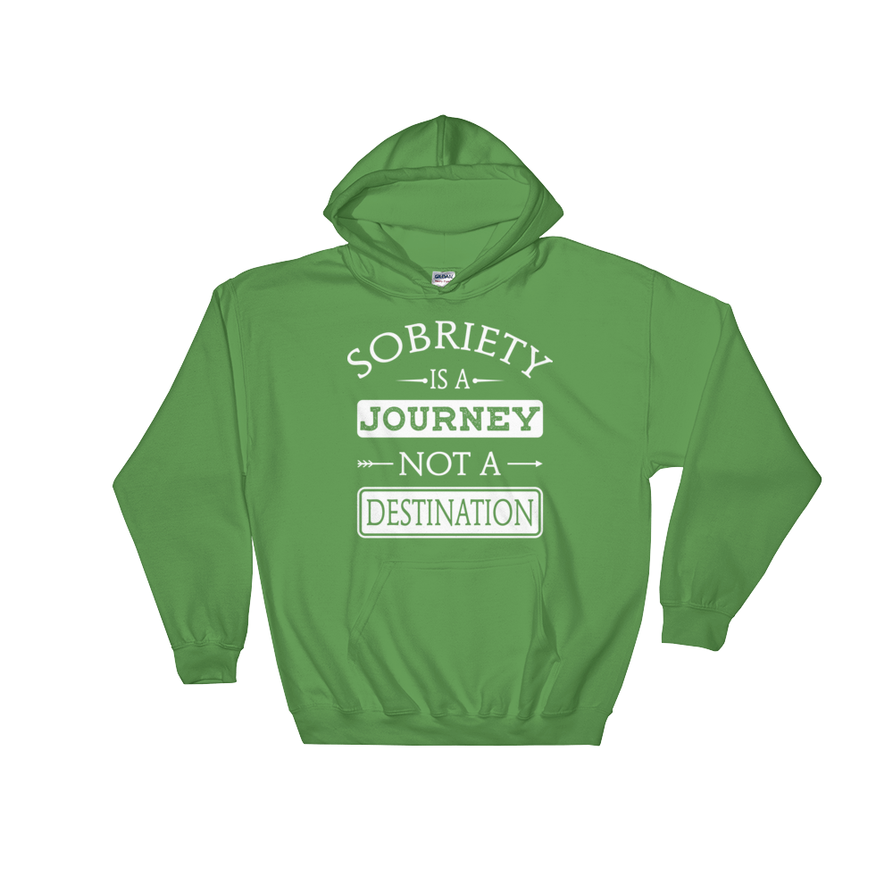Sobriety Is A Journey Not A Destination Unisex Hoodie