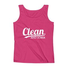 Clean And Sober Women's Tank Top