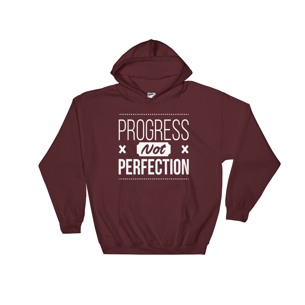 Progress Not Perfection Unisex Hoodie