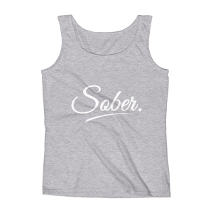 Sober Women's Tank Top