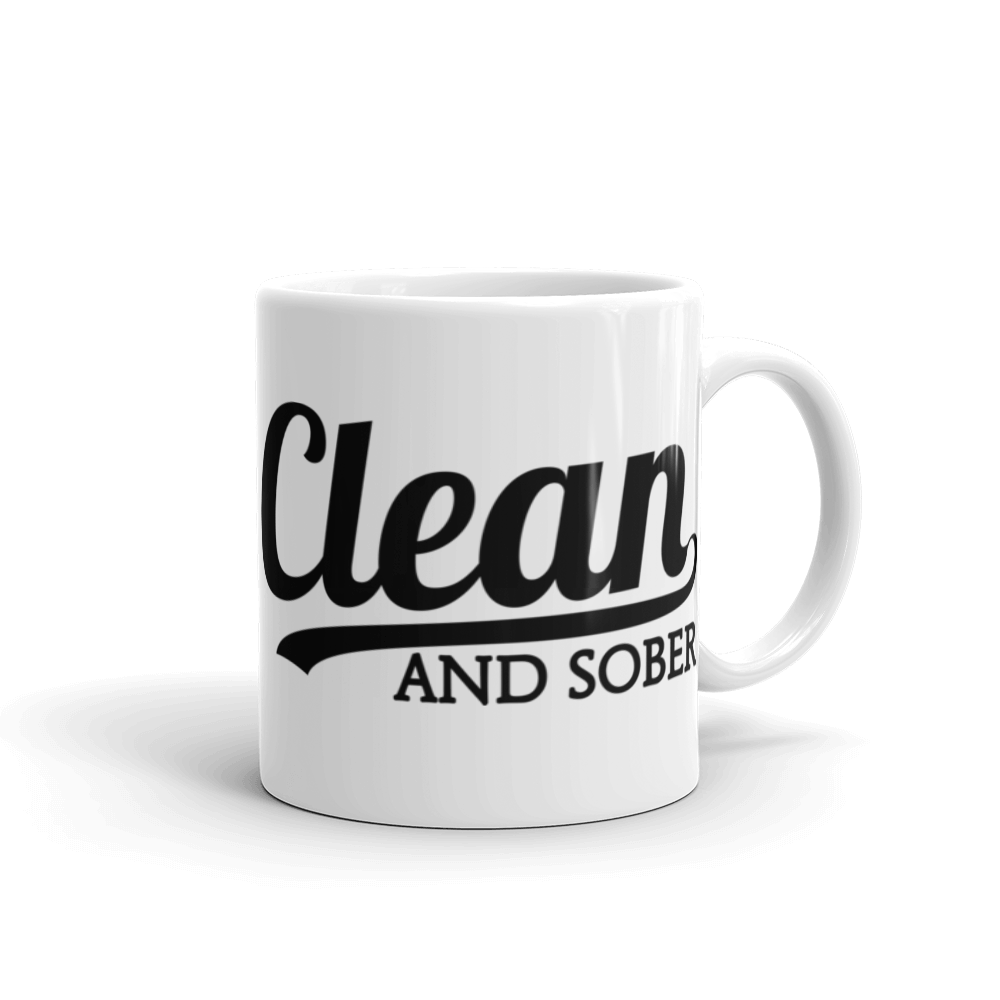 Clean And Sober Mug