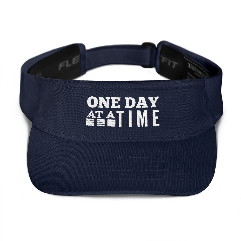 One Day at a Time Visor - Navy