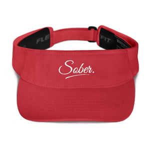 Sober Visor - Red