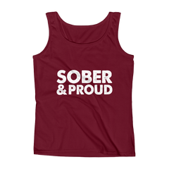 Sober & Proud Women's Tank Top