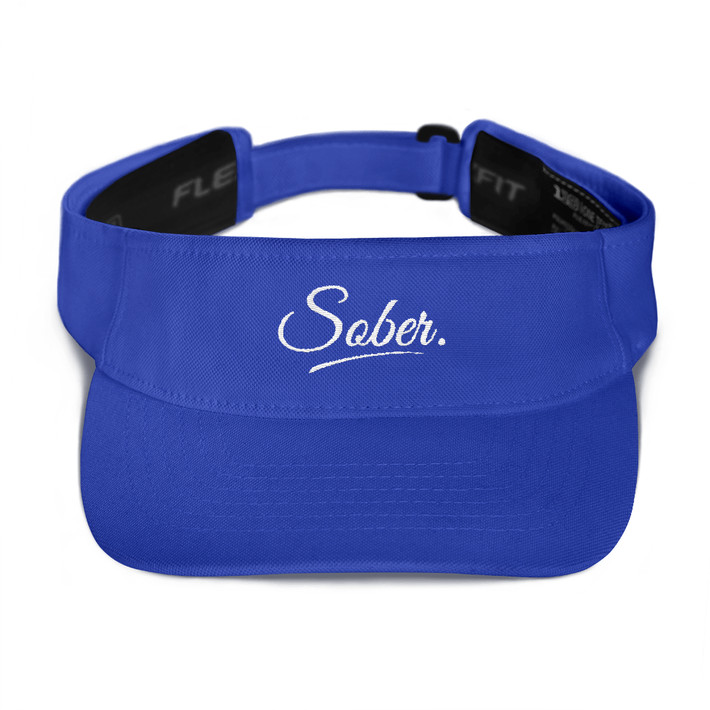 Sober Visor - Royal Blue