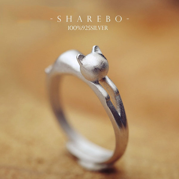 Lovely Pure 925 Sterling Silver Ring For Women