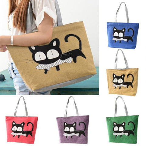 Cartoon Cat Bag