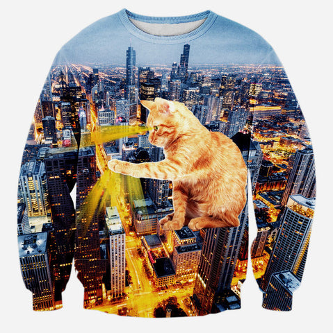 Cat Citizen 3D Sweater