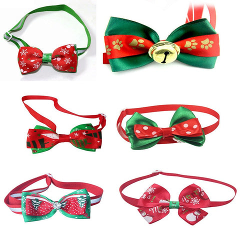 Cute Cat Christmas Bows
