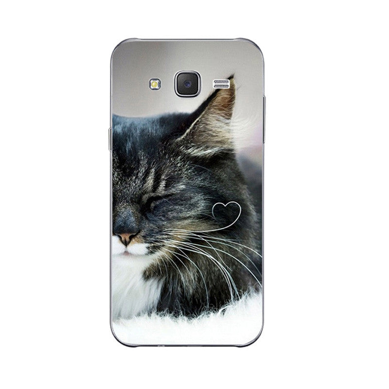 9 Cute Lazy Cat Design Phone Cases for Samsung