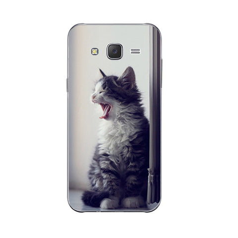 10 Cute Lazy Cat Design Phone Cases for Samsung