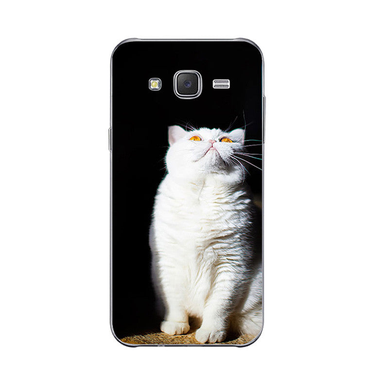 5 Cute Lazy Cat Design Phone Cases for Samsung