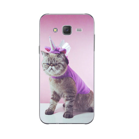 12 Cute Lazy Cat Design Phone Cases for Samsung