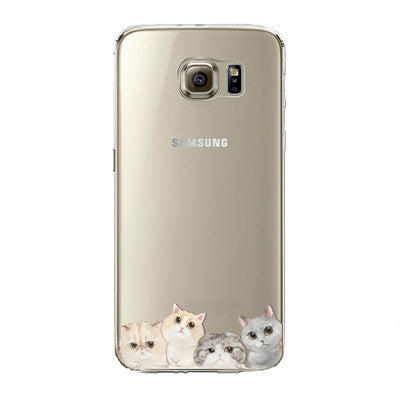 Four Cute Little Cats Phone Case for Samsung