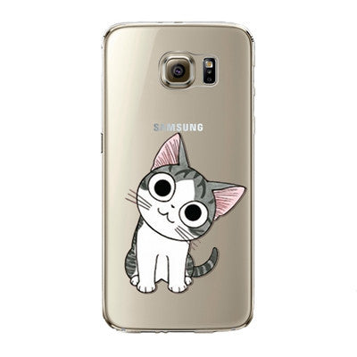 Happy Sweet Cat Phone Case for Samsung