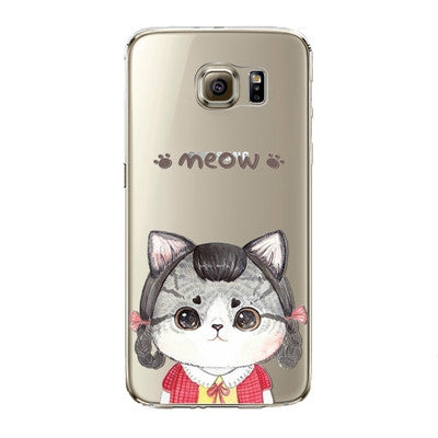 Little Sweet Kitty Phone Case for Samsung