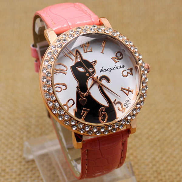 Lovely Crystal Quartz Women Watch