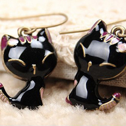 Smile Cat Earrings