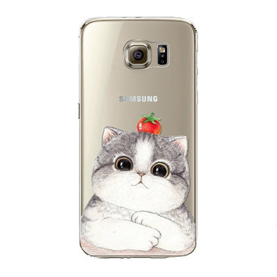 Strawberry Cat Phone Case for Samsung