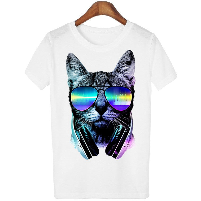 Sunglasses Song Cat T-Shirt