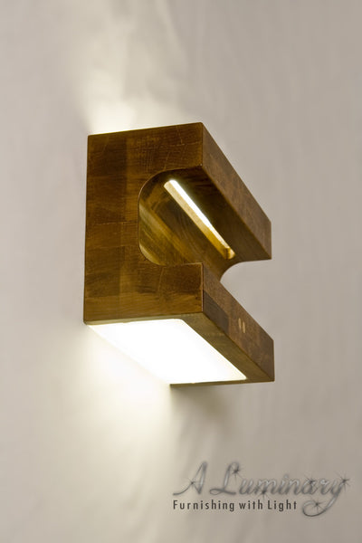 Scoop Sconce