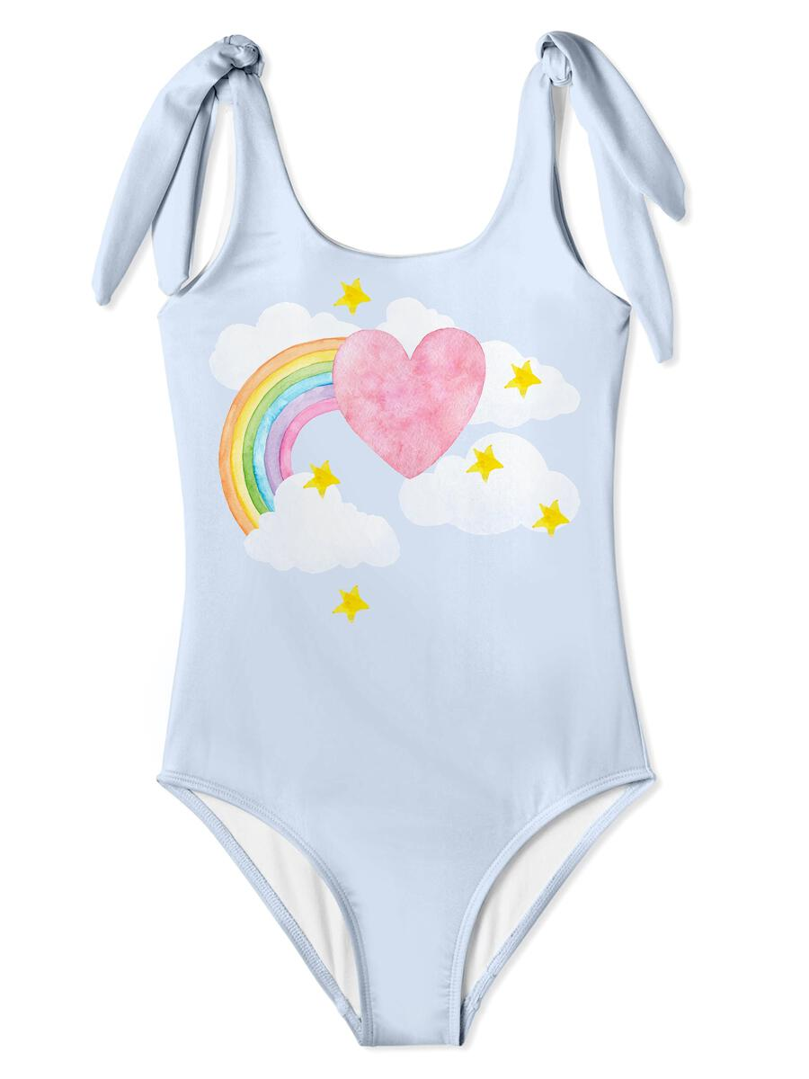 Heart Rainbow Swimsuit