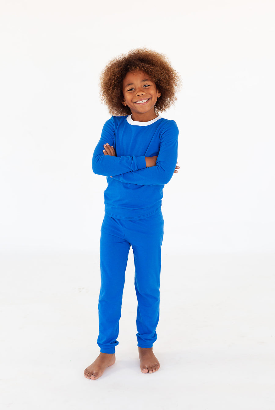 Boys Royal Blue Full Length Set