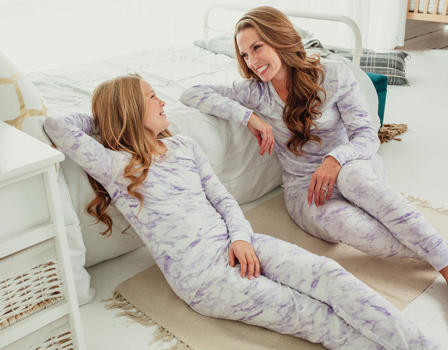 [PRE-ORDER / November 23-27 Ship] Lavender Marble Full Length Set
