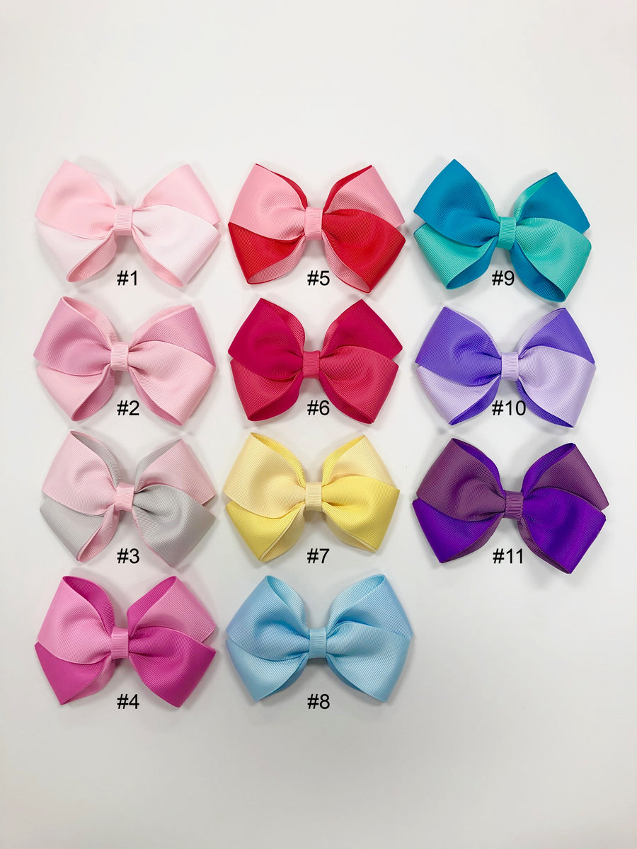 Two-tone Bows